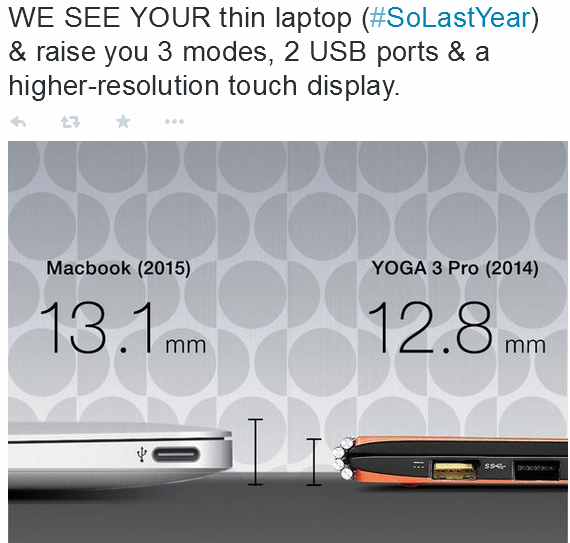lenovo vs macbook