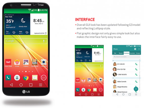 lg g2 lollipop verizon