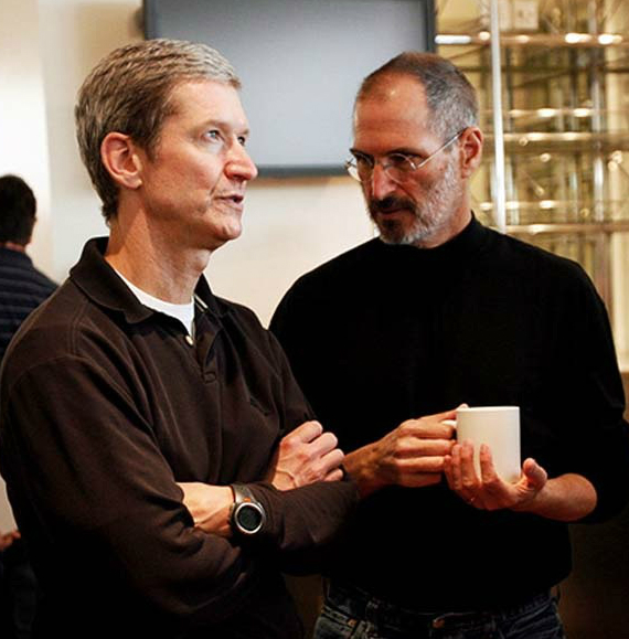 steve jobs tim cook