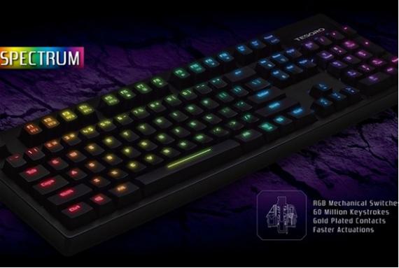 tesoro keyboard