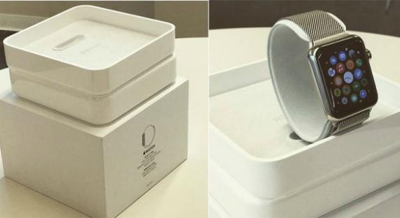 Apple Watch box