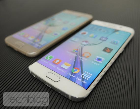 Galaxy S6 vs Galaxy S6 Edge TechblogTV