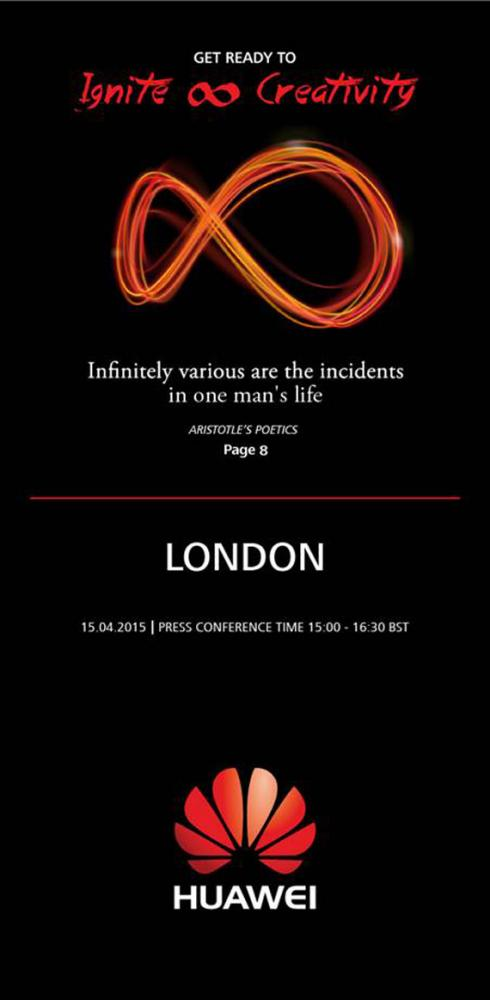 Huawei London event live