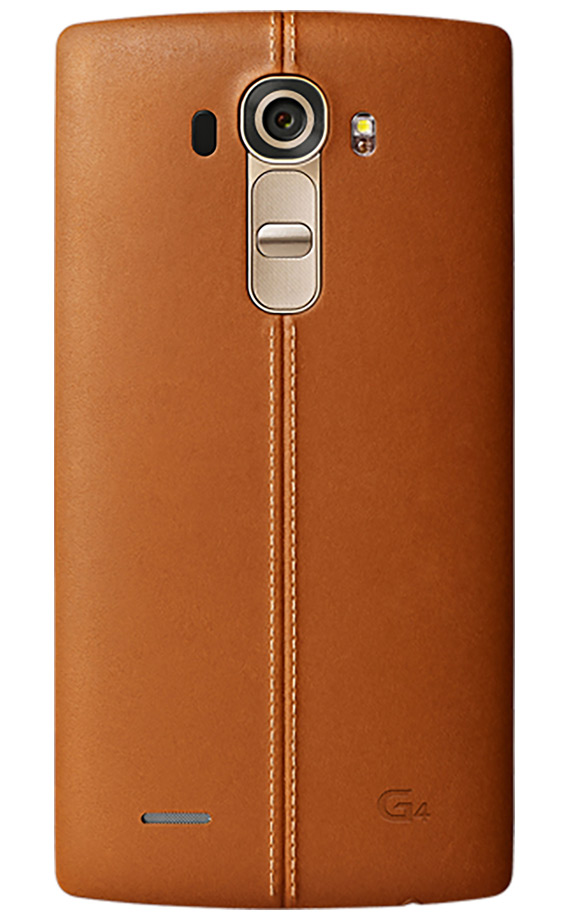 LG G4 back leather brown