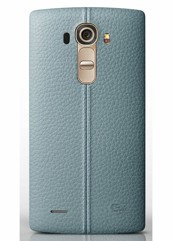 LG G4 leather blue