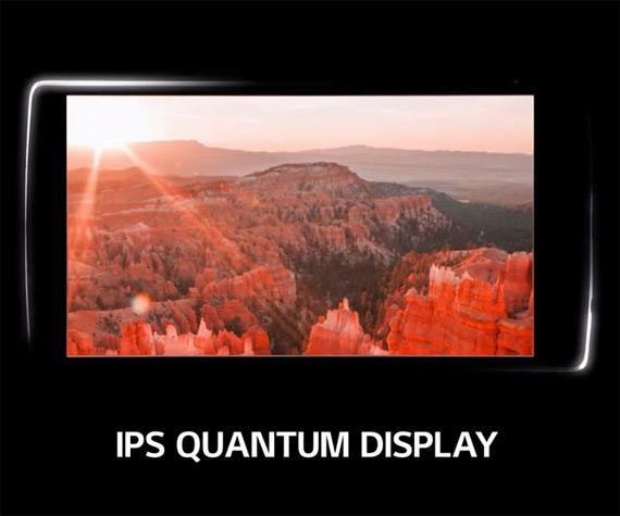 LG IPS Quantum display