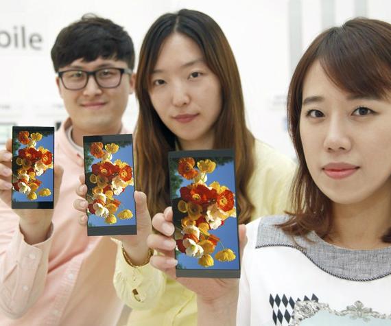 LG QHD display G4