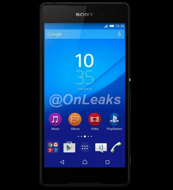Sony Xperia Z4 press render
