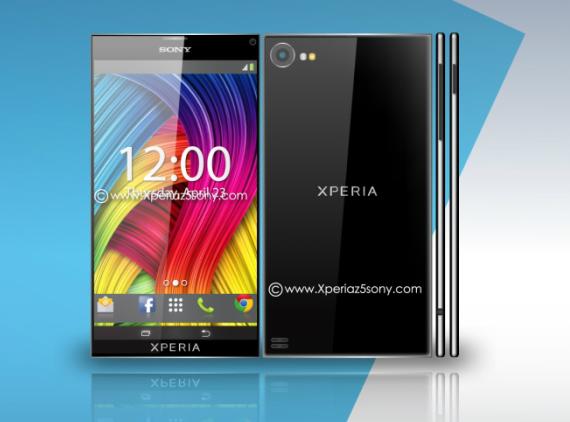 Sony Xperia Z5 concept