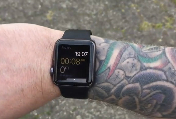 apple tattoo watch