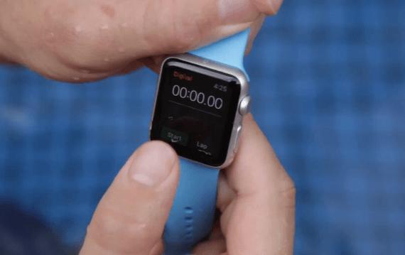 apple watch water test