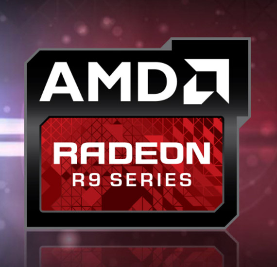 AMD R9 R9 Radeon logo