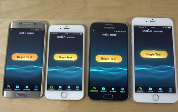 galaxy s6 iphone 6 wifi test
