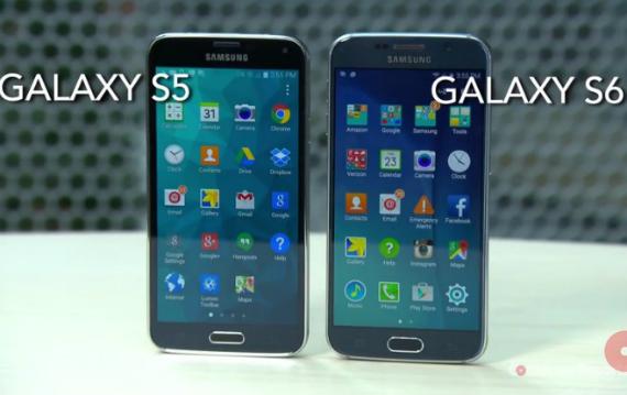galaxy s6 vs s5