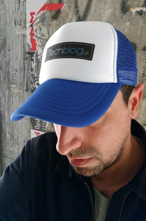 techblog baseball cap blue lifestyle