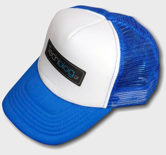 techblog baseball cap blue