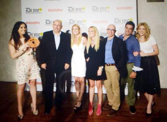 Dime Awards 2015 WebTV Star crew