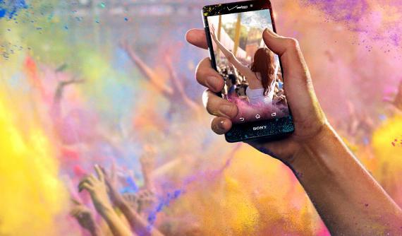 Sony Xperia Z4v official