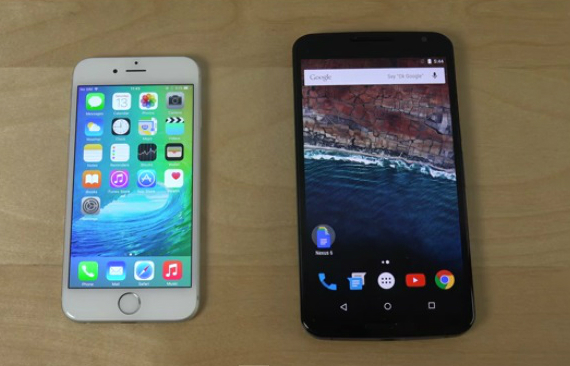 nexus 6 iphone 6