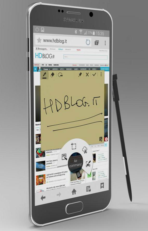 Galaxy Note 5 concept