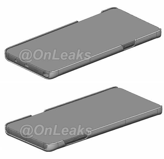 Galaxy Note 5 renders cases