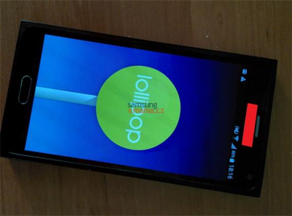 Galaxy Note 5 test dummy