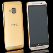 gold htc one m9