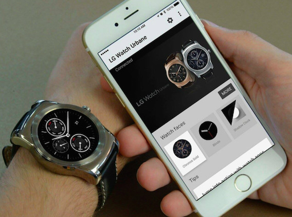 android wear ios