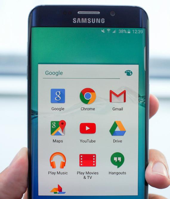 google app folder