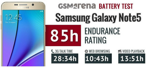 note 5 battery