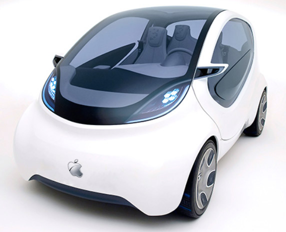Apple car mockup