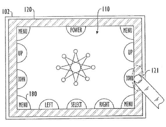 Apple patent bezels