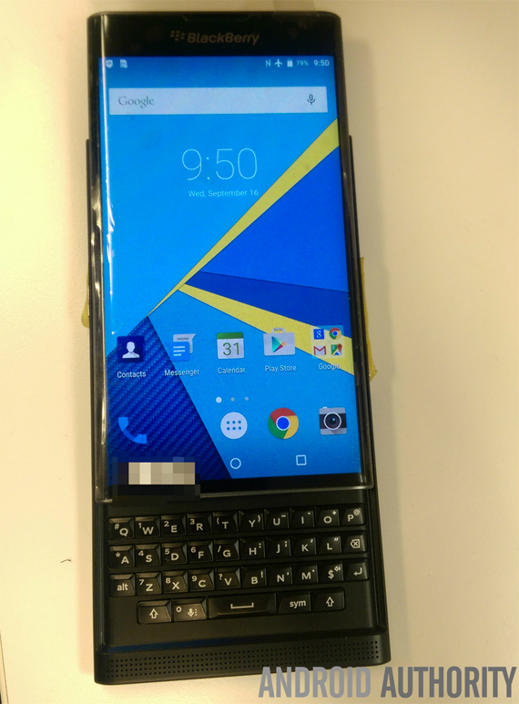 BlackBerry Venice leaked