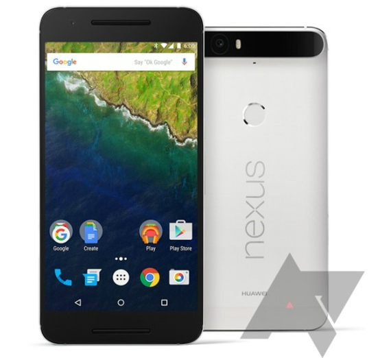 Huawei Nexus 6P render