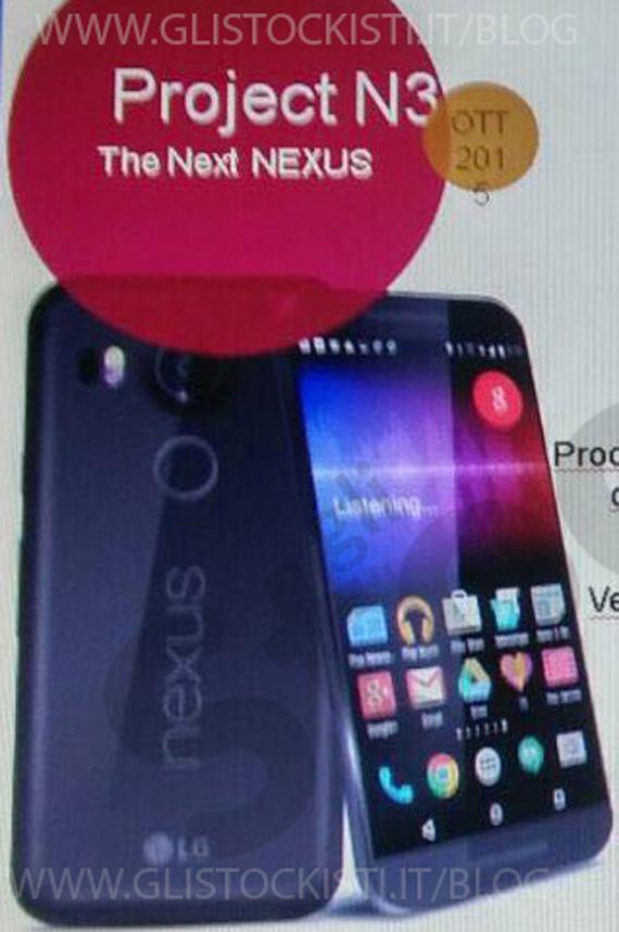 LG Nexus 5X leaks