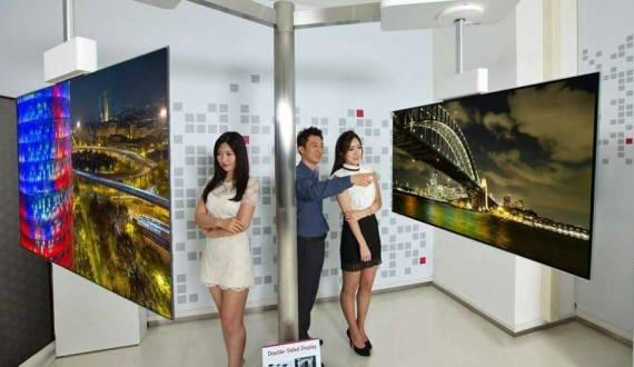 LG OLED TV 111 inch