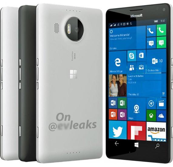 Microsoft Lumia 950XL render