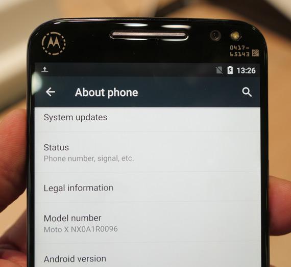 Motorola Moto Style X Snapdragon 810