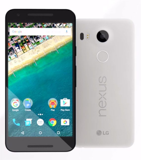 Nexus 5X revealed official