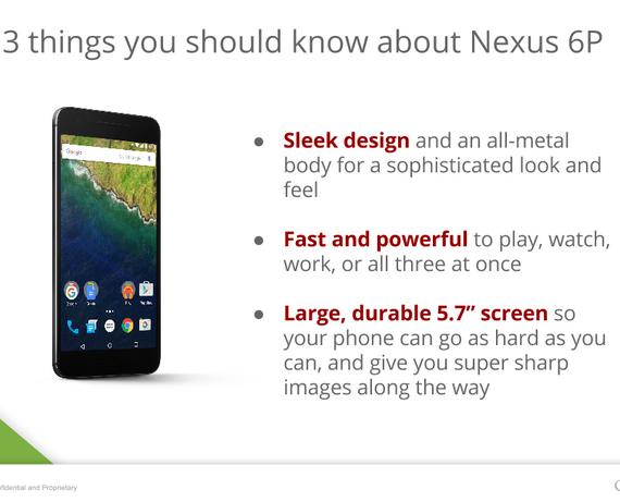 Nexus 6p leak