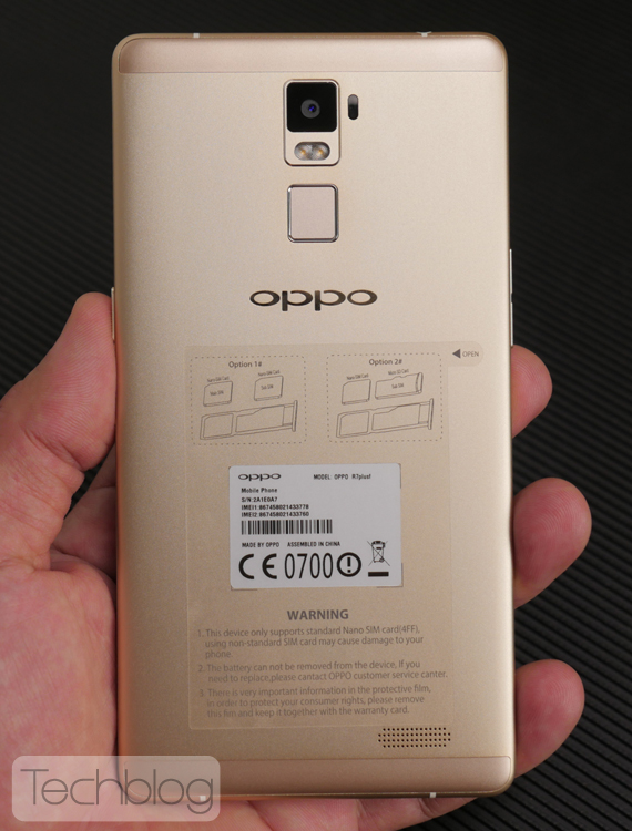 OPPO R7 Plus hands-on techblogtv