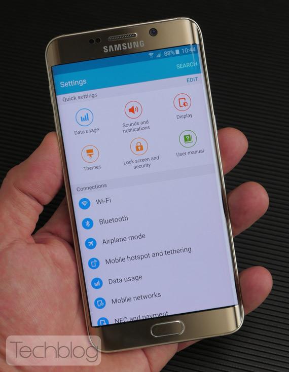 Samsung Galaxy S6 Edge+ hands-on TechblogTV