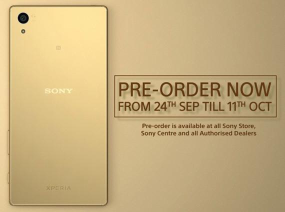 Sony Xperia Z5 Pre order