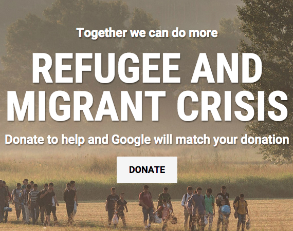 google campain fefugees