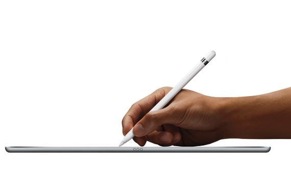 iPad Pro revealed hand