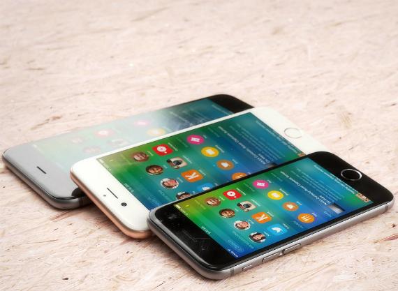 iPhone 6c 6s 6s Plus renders