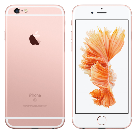 iPhone 6s Rose Gold revealed
