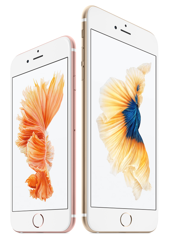 iPhone 6s and 6s Plus revealed