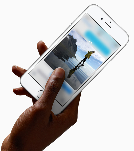 iPhone 6s screen display