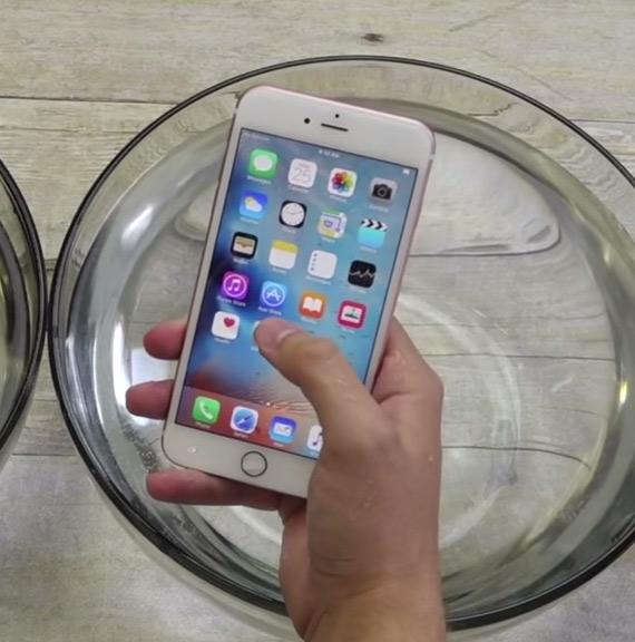 iphone 6s under water
